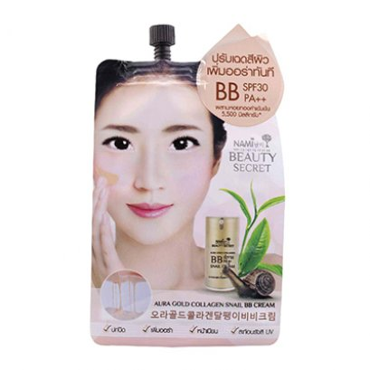 Nami Aura Gold Collagen Snail BB Cream 1 Sachet