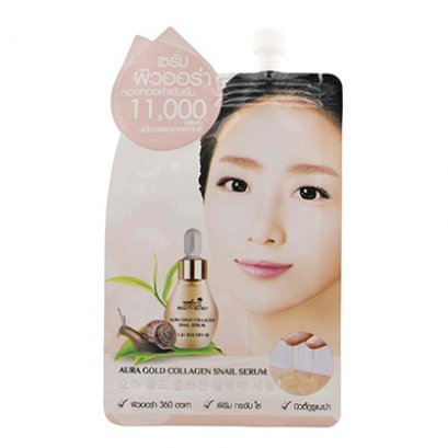 Nami Beauty Secret Aura Gold Snail Serum 1 Sachet