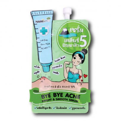 Nami Bye Bye Acne Bright & Smooth Serum 1 Sachet