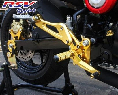 Rearset adjustable Msx125
