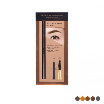 Pro Slim Brow Pencil Browit By Nongchat