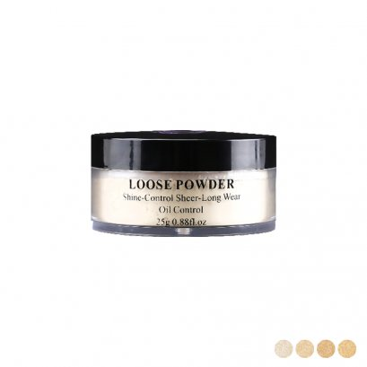 SIVANNA Loose Powder Shine-Control Sheer-Long Wear
