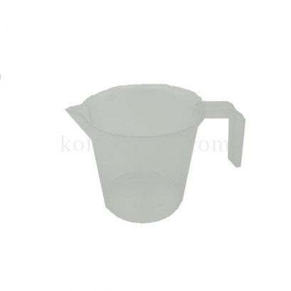 ถ้วยตวงพลาสติกขาวขุ่น PP มีสเกล 250 ml