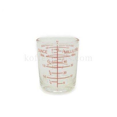 แก้วตวง ขนาด 60 ml ( 2 oz) ขีดแดง