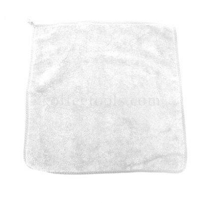 ผ้าทำความสะอาดอุปกรณ์กาแฟมีที่แขวน สีขาว