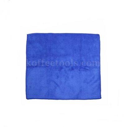 ผ้าทำความสะอาดอุปกรณ์กาแฟมีที่แขวน สีน้ำเงิน