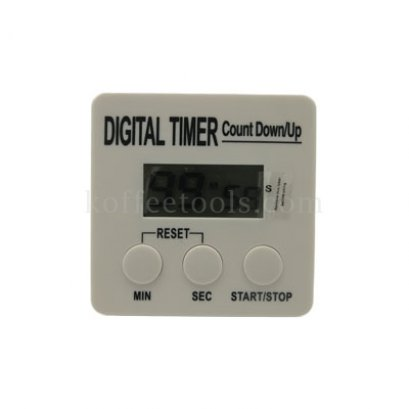 นาฬิกาดิจิตอลจับเวลา M( 7*6.8 c.m.)สีขาว