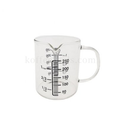 เหยือกแก้วตวง 250 ml.(แก้วฺทนความร้อนสูง)