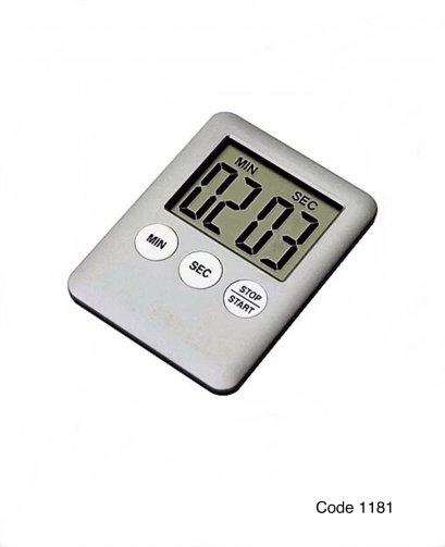 นาฬิกาดิจิตอลจับเวลา มินิ สีบรอนด์