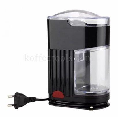 เครื่องบดกาแฟไฟฟ้าขนาดเล็กสีดำ