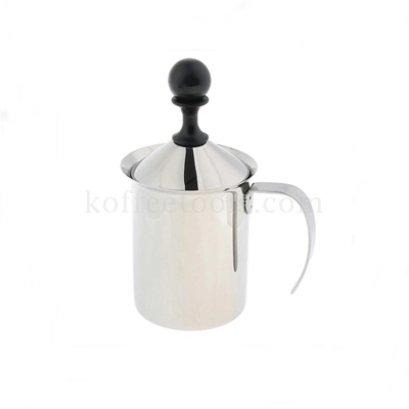 เหยือกปั้มฟองนมจุกดำ 400 ml (max 200 ml)