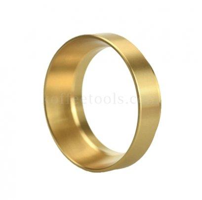 วงแหวนครอบด้ามชงกาแฟ 58 มม สีทอง