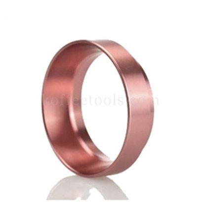 วงแหวนครอบด้ามชงกาแฟ 58 มม สีโรสโกลด์