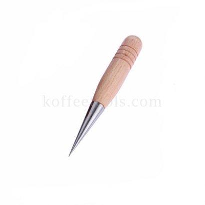 ปากกา Latte art ด้ามไม้สีบีชสแตนเลส 304 ยี่ห้อ Gater