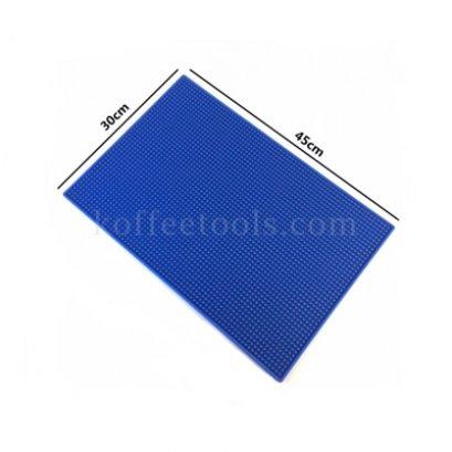 Bar mat 30*45 cm สีน้ำเงิน