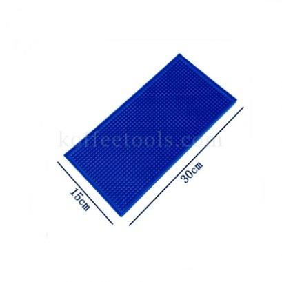 Bar mat 15*30 cm สีน้ำเงิน