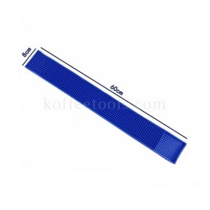 Bar mat 8*60 cm สีน้ำเงิน