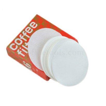 coffee filter paper No.6 สีขาว (100 pcs/pack)