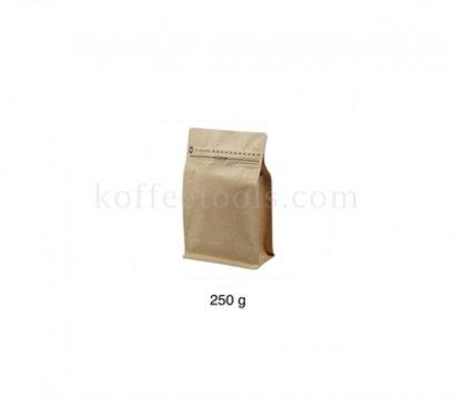 ซองคราฟฟอยล์ซิป มีวาล์ว บรรจุกาแฟ 250 g (10 pcs/pack )