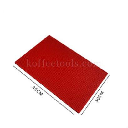 Bar mat 30*45 cm สีแดง