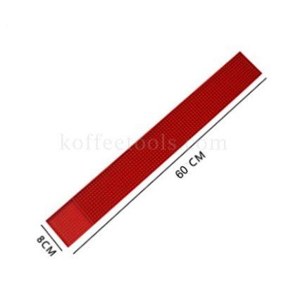 Bar mat 8*60 cm สีแดง