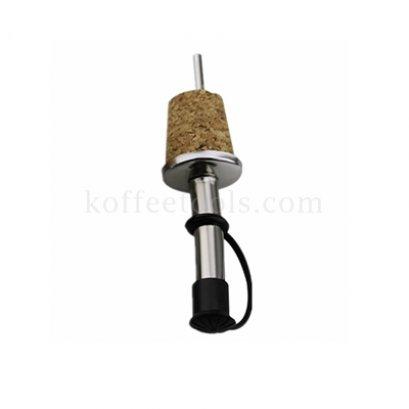 Wooden cork bottle stopper จุกปิดสีดำ