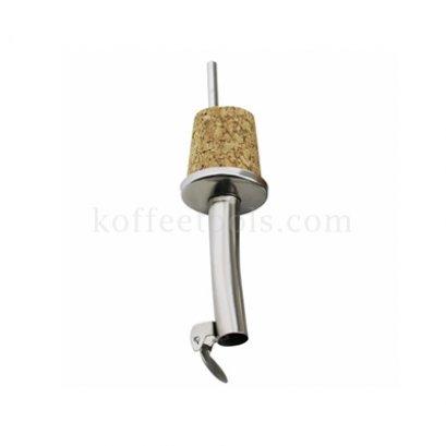 Wooden cork bottle stopper จุกปิดสแตนเลส
