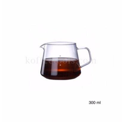 โถแก้วรองกาแฟดริป 300 ml