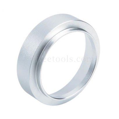 วงแหวนครอบด้ามชงกาแฟ 51 mm สีเงิน