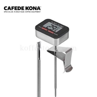 Digital thermometer สีดำ ยี่ห้อ cafede kona
