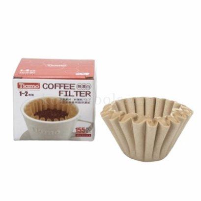 กระดาษกรองทรงตะกร้า 1-2 cup ยี่ห้อ Tiamo
