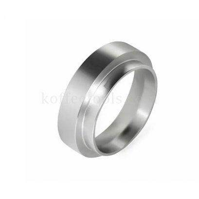 วงแหวนครอบด้ามชงกาแฟสีเงินขนาด 51 mm grade B