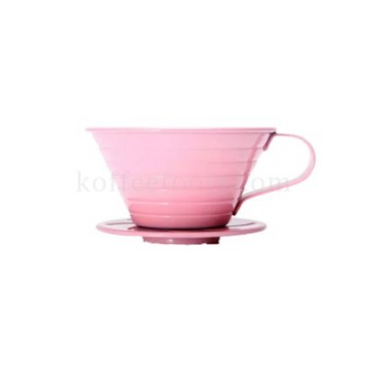 ดริปเปอร์สแตนเลส (1-4 cups) สีชมพู ck8035