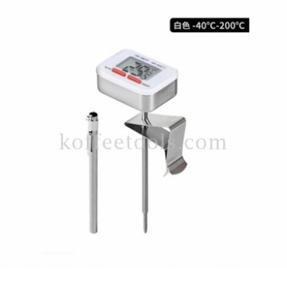 Digital thermometer สีขาว ยี่ห้อ cafede kona