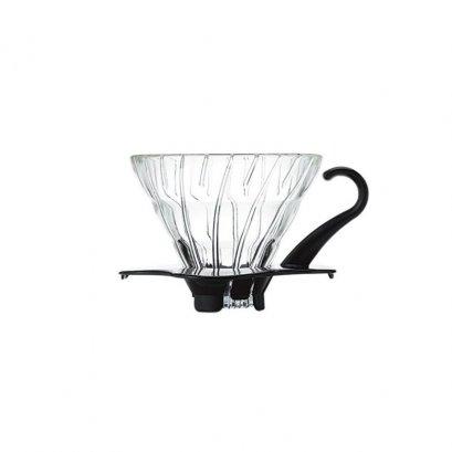 ดริปเปอร์ แก้ว Hario 01 สีดำ / HARIO(044) V60 Glass Dripper Black/VDG-01B
