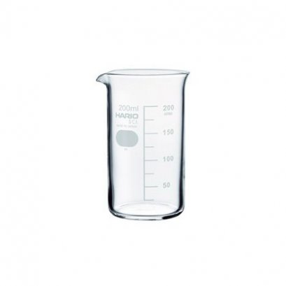 HARIO(080) Tall Beaker 200( With Measurements)/TB-200SCI