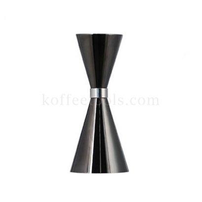 จิกเกอร์ตวงสแตนเลส304( 30/45 ml) สีดำ