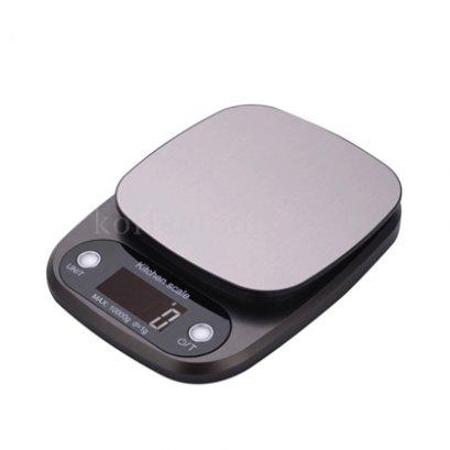 เครื่องชั่งอเนกประสงค์ดิจิตอล LCD สีเทาดำ(1g /10kg)