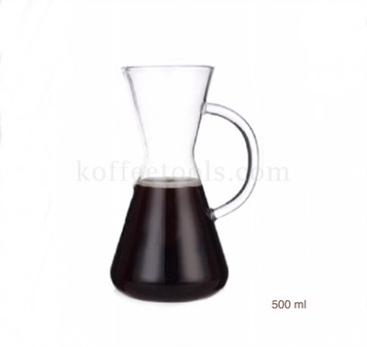 โถดริป chemex Hand punching pot 500 ml