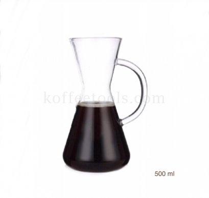โถดริป chemex Hand punching pot 500 ml