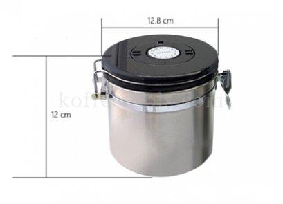 โถสแตนเลสสูญญากาศเก็บเมล็ดกาแฟ S ( 380 g )
