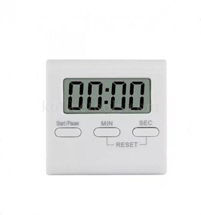 นาฬิกาดิจิตอลจับเวลา S (5.7*5.3 cm) สีขาว