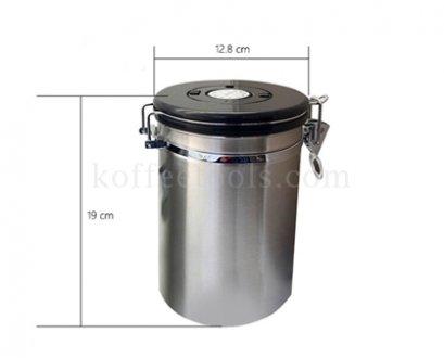 โถสแตนเลสสูญญากาศเก็บเมล็ดกาแฟ L (500 g)