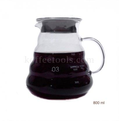 โถแก้วกาแฟดริป glass pot No.3 (800 ml)