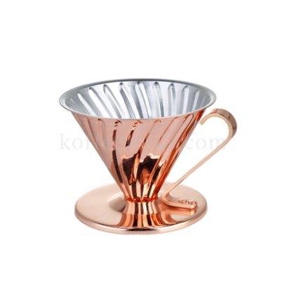 กรวยดริปกรองกาแฟสีทองแดง (2-4 cup) ยี่ห้อ L-BEANS