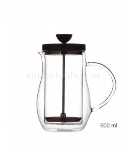เครื่องชงกาแฟ french press 600 ml (dw)