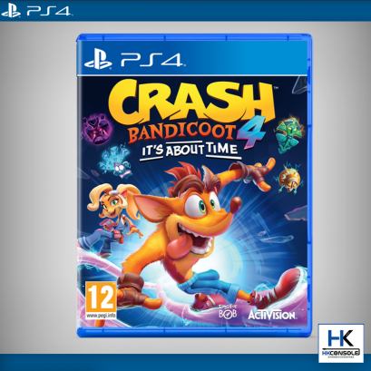 PS4 :    Crash Bandicoot 4