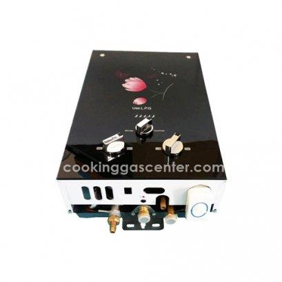 Water Heater เครื่องทำน้ำร้อนแก๊สรุ่นกระจกสีดำ  7L-A56 G/GS