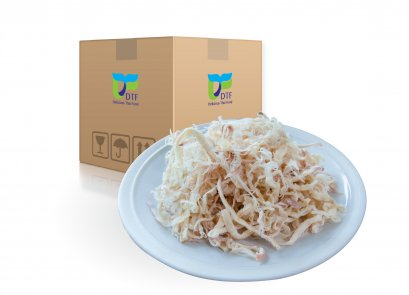 Dried Shredded Squid  (Spicy Flavor) by whole carton 10 kg