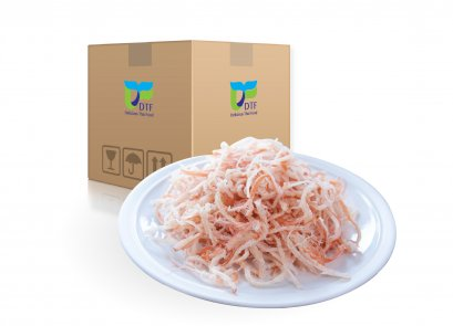 Dried Shredded Squid  (Red Spicy Flavor) by whole carton 10 kg